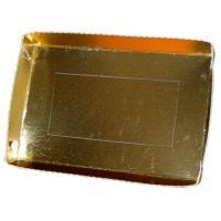 BP Pralineria e Mini pasticceria vaschette bordo smerlato Oro